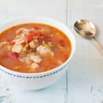 This Manhattan Clam Chowder comes together in just 15 minutes