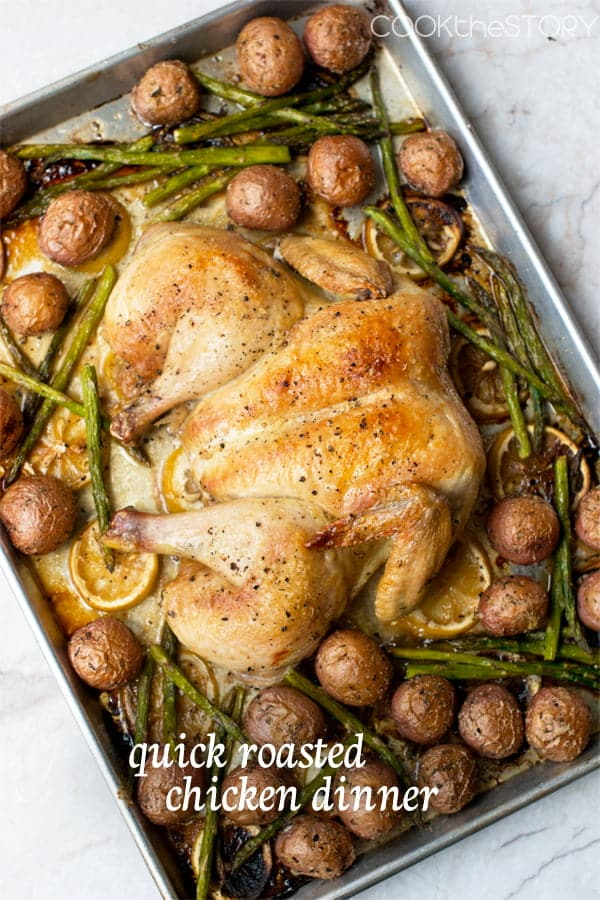 Spatchcocked Chicken With Potatoes Recipes — Dishmaps