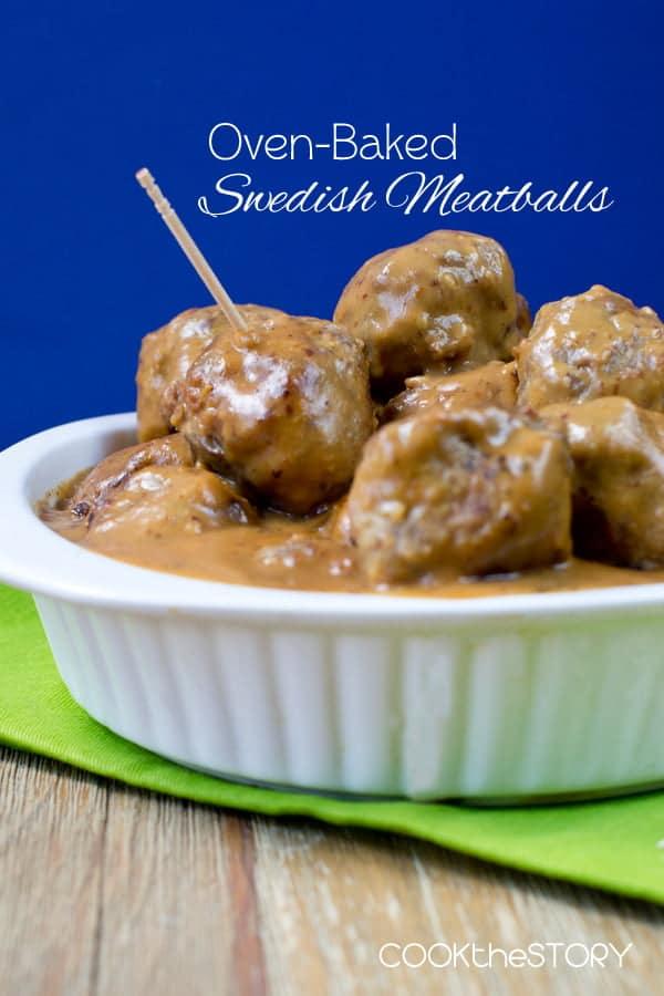 Oven-Baked Swedish Meatballs