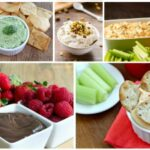 Dip Recipes Made with Yogurt - over 35 delicious and healthy dip recipes on COOKtheSTORY.com