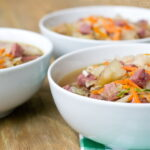 Easy Corned Beef and Cabbage Soup Recipe