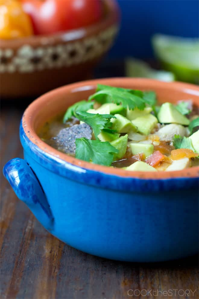 Mexican Lime Soup in 15 Minutes