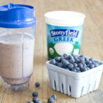 Blueberry Pancake Green Smoothie