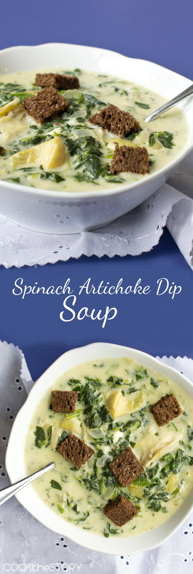 Spinach and Artichoke Dip Soup