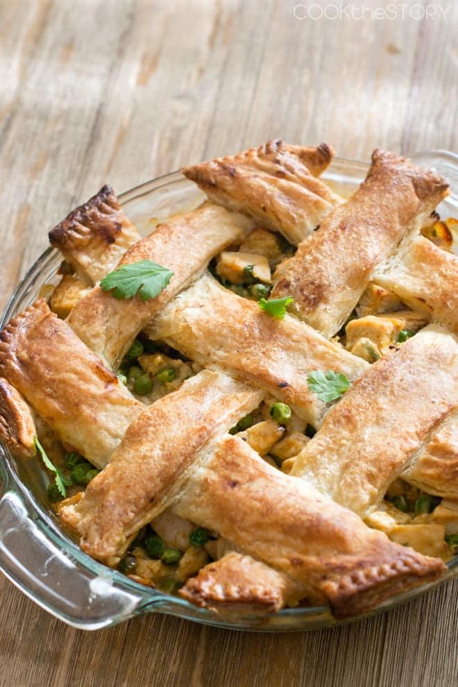 Chicken Korma Pot Pie from COOKtheSTORY.com
