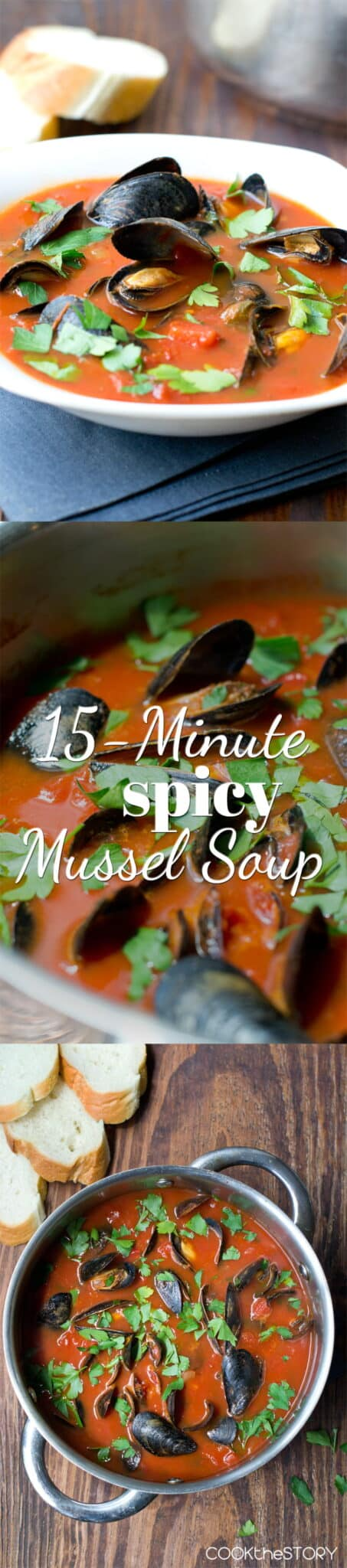 15-Minute Spicy Mussel Soup
