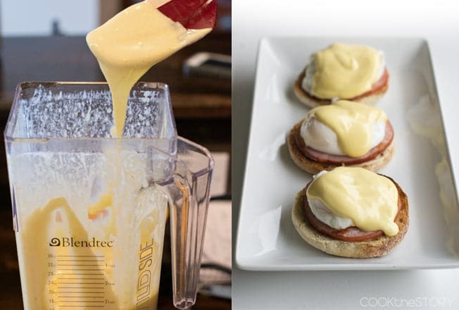 Easiest Hollandaise Sauce: No Whisking Required!