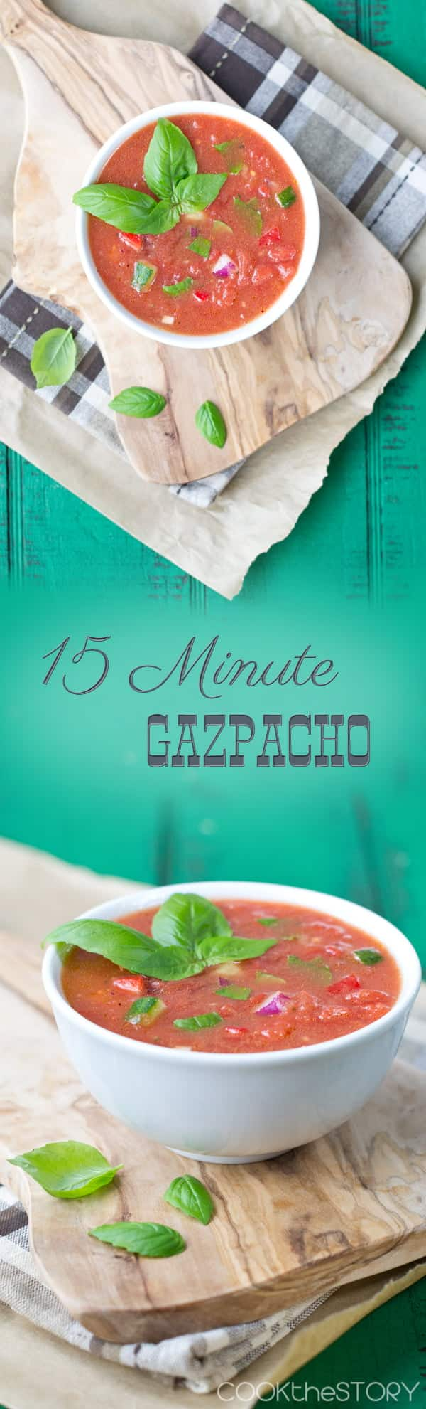 An easy Gazpacho recipe perfect for the summer months ahead!