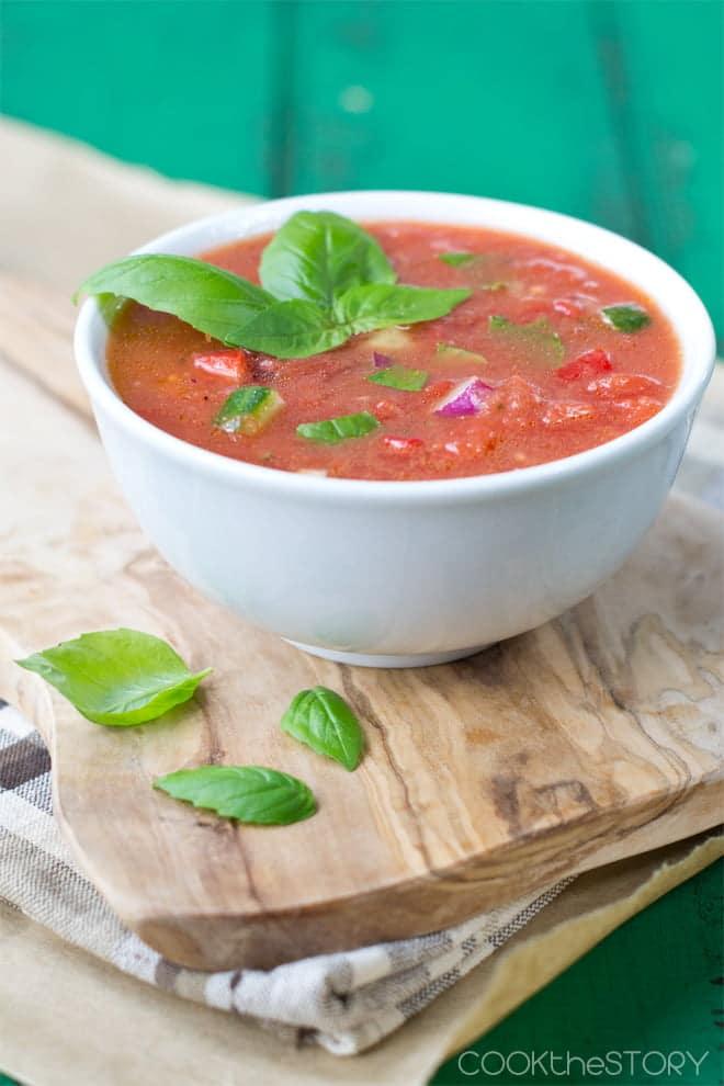 A Quick and Easy Gazpacho Recipe