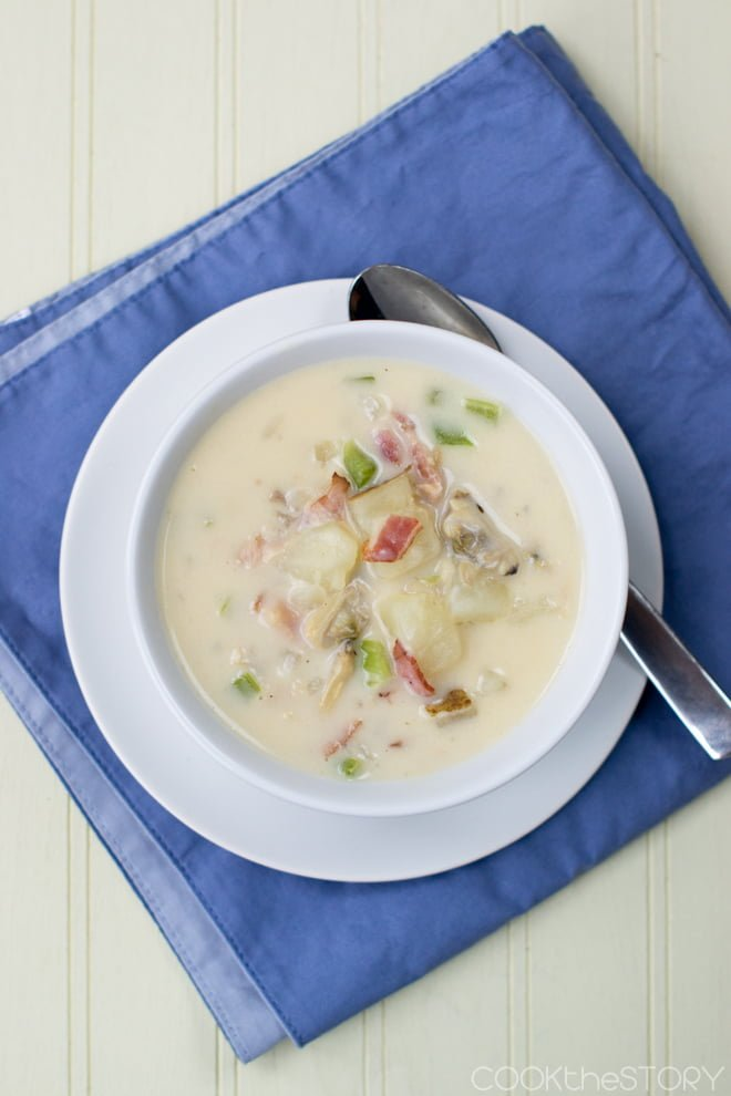 Easy New England Clam Chowder Recipe — Dishmaps