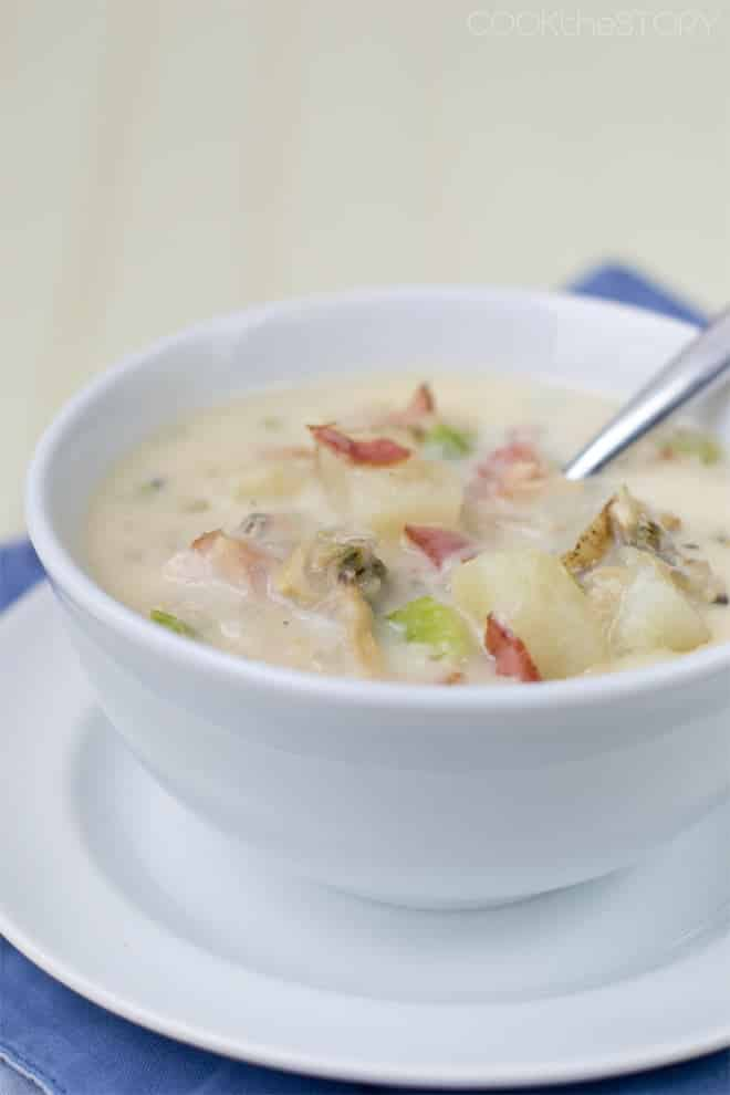 15-Minute New England Clam Chowder