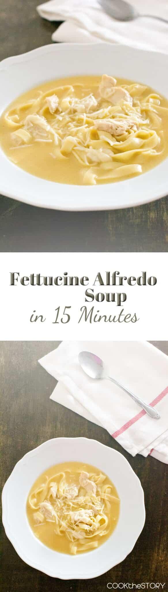 Fettuccine Alfredo Soup