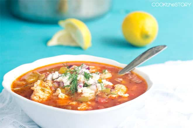 Greek Fish Soup