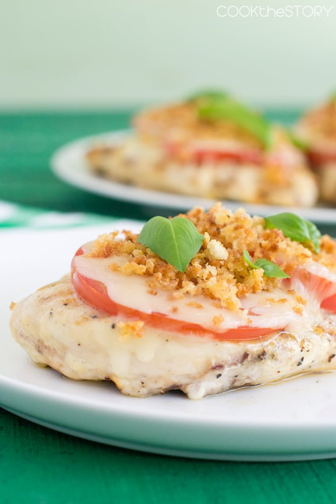 ... Grilled Chicken Parmesan blends traditional flavor with the taste of