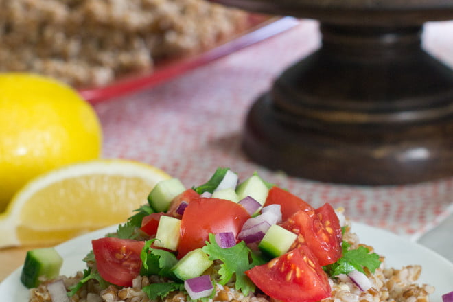 A quick, easy tabouleh recipe that even kids will love