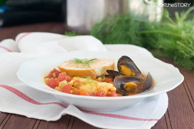 Homemade Classic Bouillabaisse, made in just 15 minutes