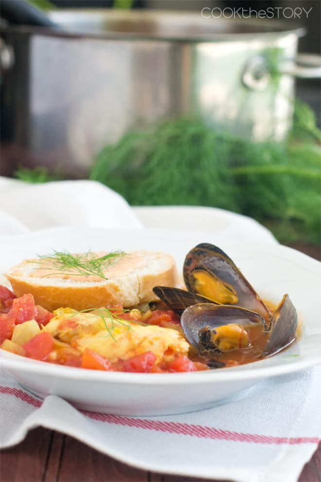 Pin this Quick and Easy Bouillabaisse Recipe