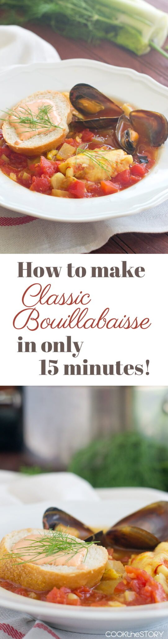 Easy recipes for bouillabaisse