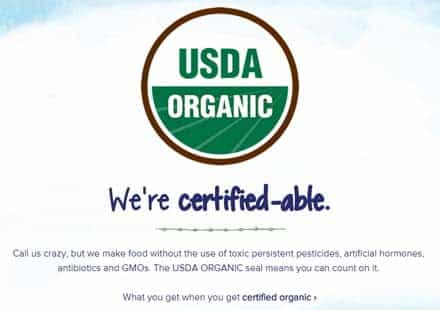certified organic stonyfield