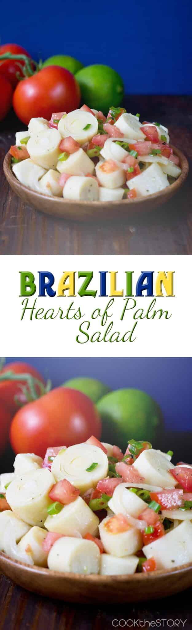 Brazilian Hearts of Palm Salad