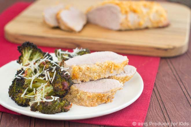 One Pan Pork Tenderloin with Italian Broccoli