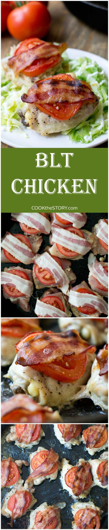 Who loves BLT's? This BLT Chicken recipe takes those classic flavors and brings them to the dinner table.