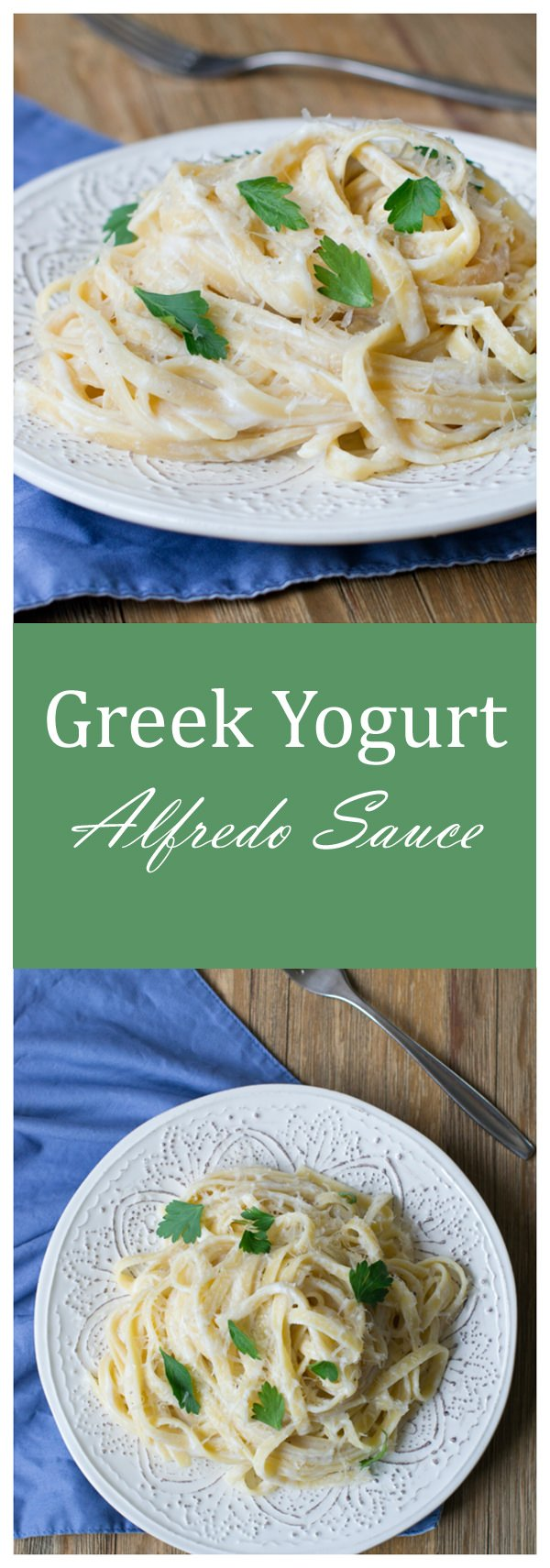 Greek Yogurt Alfredo Sauce