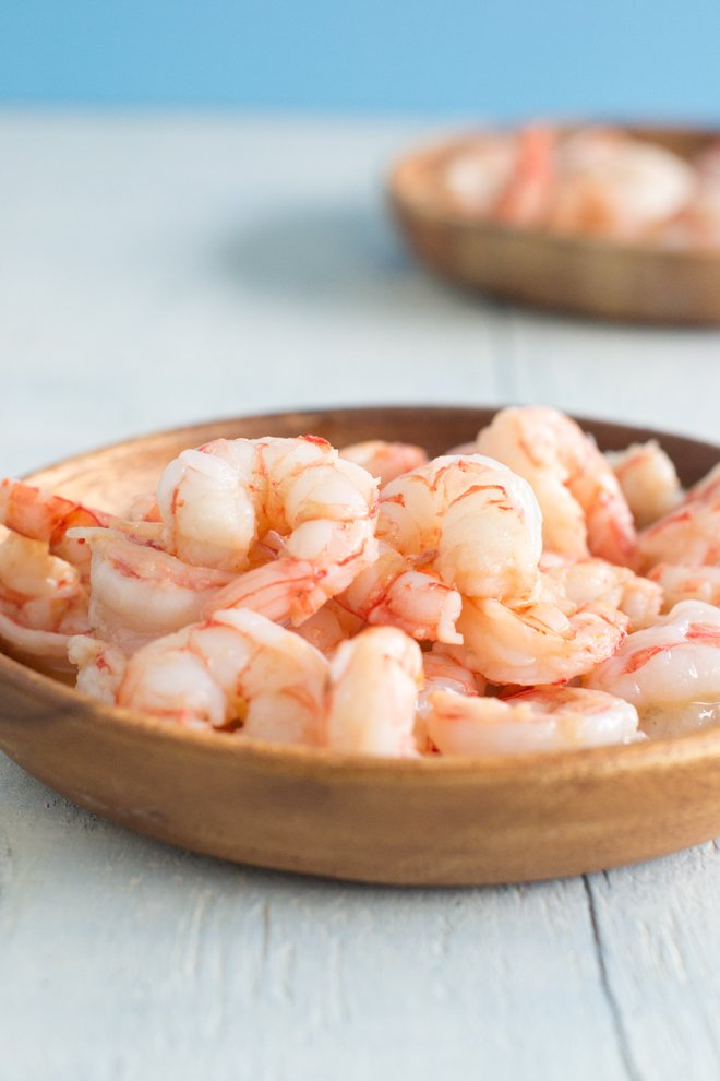 Royal Red Shrimp are found deep in the ocean and are red when raw. They're sweeter than regular shrimp with a flavor and texture more like lobster. Learn how to cook Royal Reds here.