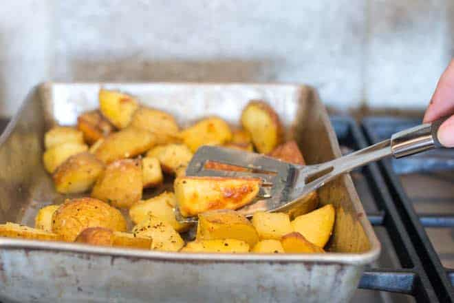 Making roasted potatoes perfectly every time