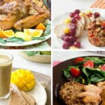 It's tough to eat healthy over the holidays. I say, go ahead and splurge on some treats but try to cook healthy things whenever you can. Here are 14 healthy holiday recipes to try.