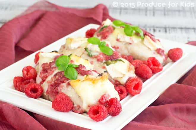 Raspberry Baked Chicken