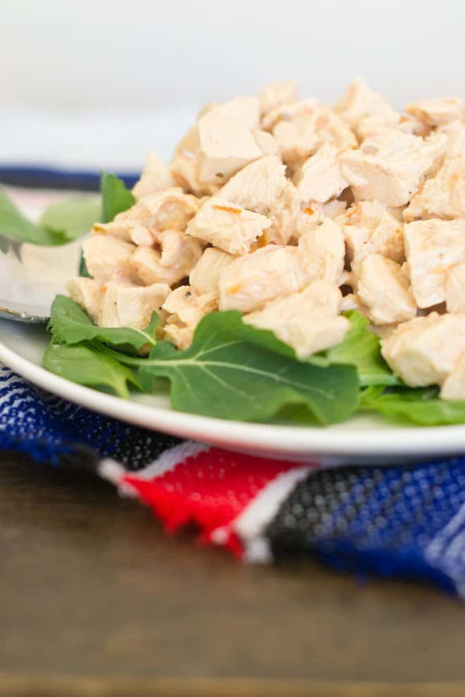 Mexican Chicken Salad with Yogurt