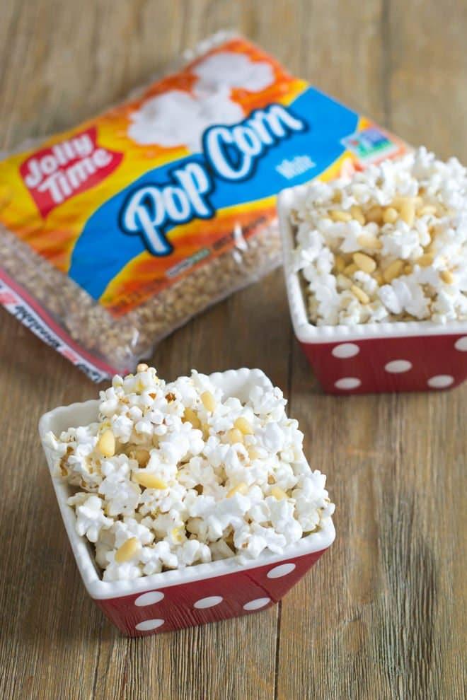 Healthy Mediterranean Popcorn with JOLLY TIME White Pop Corn kernels