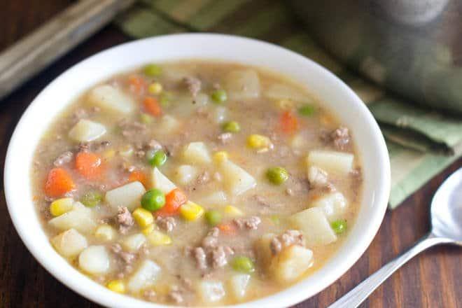 Quick Shepherds Pie Soup