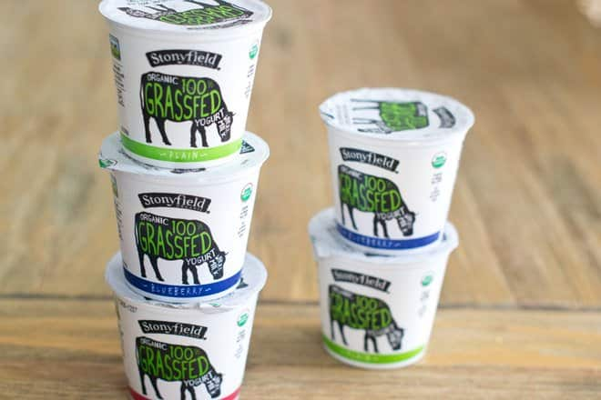 Stonyfield Grassfed Whole Milk Yogurt
