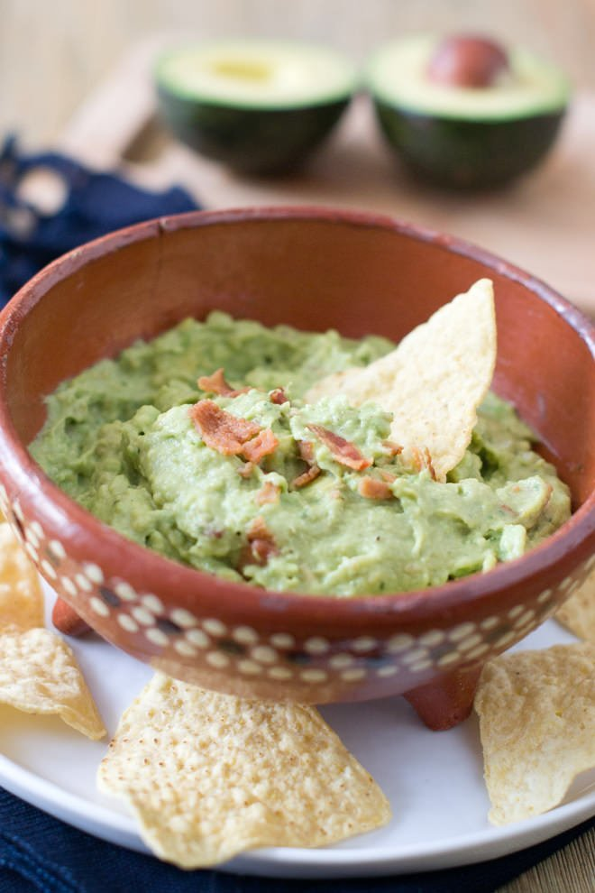 Bacon Ranch Guacamole