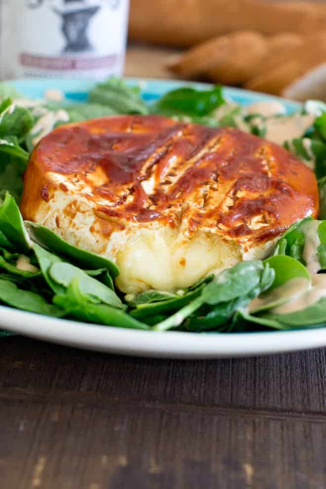 BBQ Baked Brie