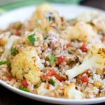 Farro Salad with Roasted Cauliflower