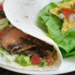 Tequila-Marinated Beef Burritos