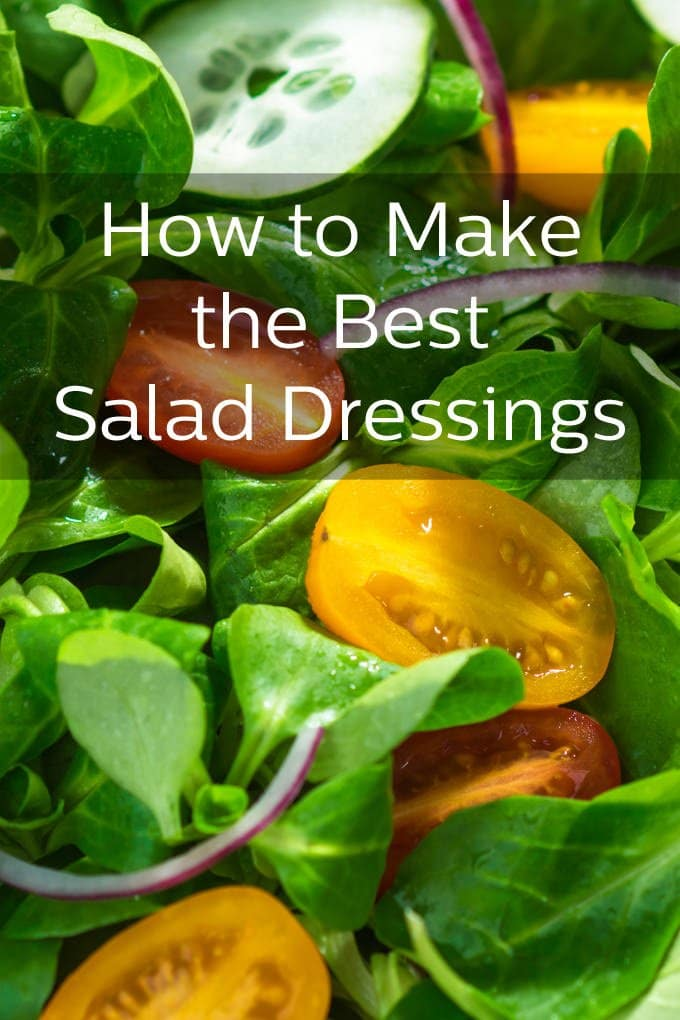 All About Making the Best Salad Dressings on TheCookful