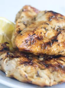 Learn the method for how to grill chicken breasts that are super-juicy, and never ever dried out.