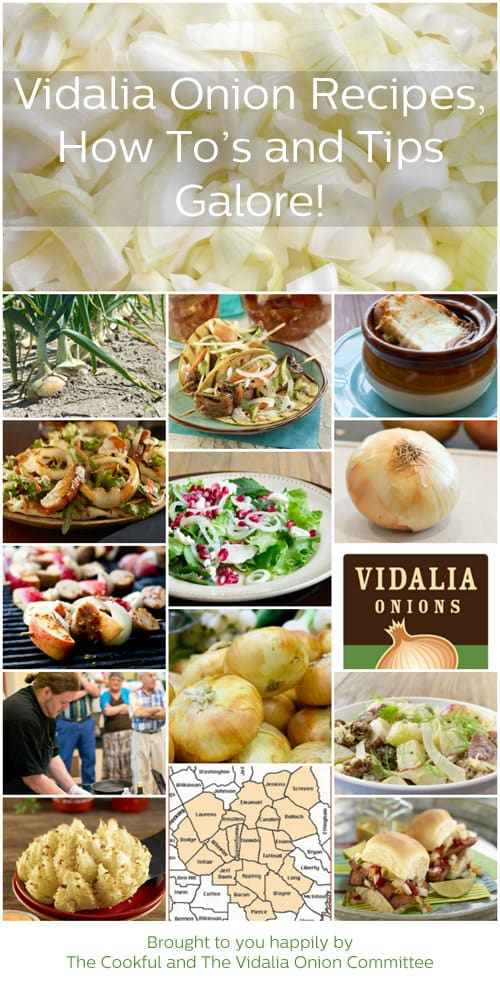 The Vidalia Onion Series on TheCookful.com