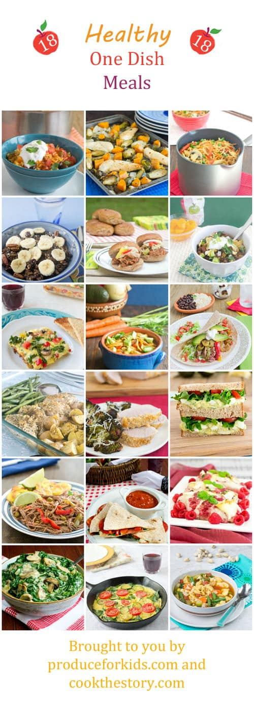 Healthy and delicious one dish meals