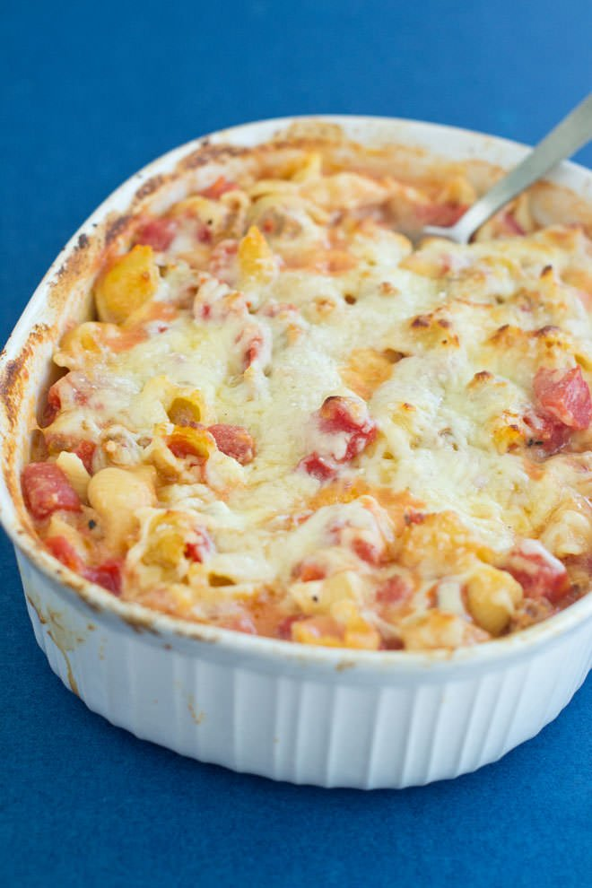 Delicious No-Boil Pasta Bake Done in One Pan
