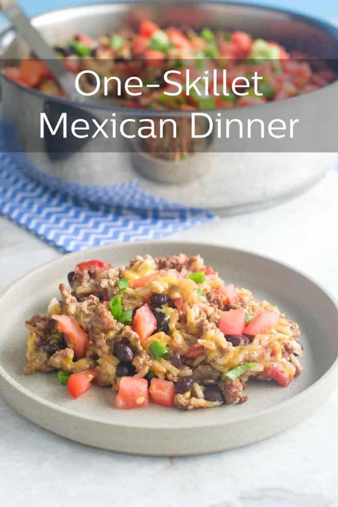This is a delicious (deeeelicious!) Tex-Mex style dinner that is all cooked in one pan in 30 minutes. Quick and easy to make, quick and easy to clean up. You need to try this one!