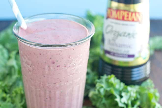 Balsamic Berry Smoothie