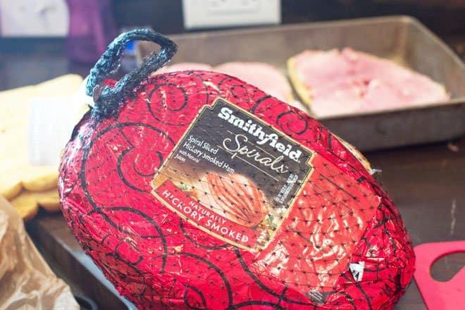 Smithfield Spiral Sliced Hickory Smoked Ham