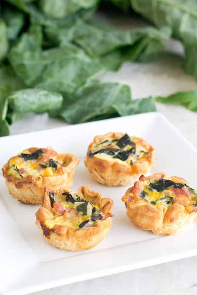 Learn the basics for making mini quiches and get this delicious recipe for a Southern take on mini quiche that uses collard greens, ham and hot sauce.