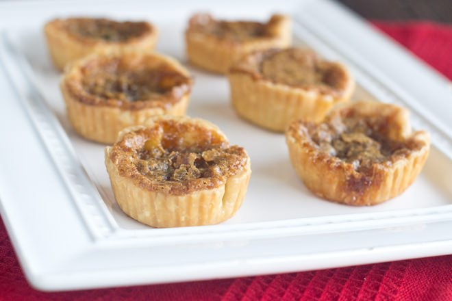 Butter Tarts are a delicious and surprisingly easy holiday dessert.