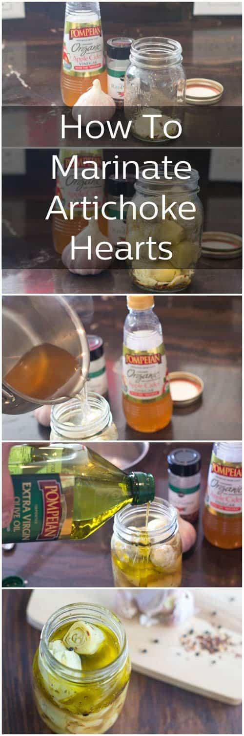 Homemade Marinated Artichoke Hearts